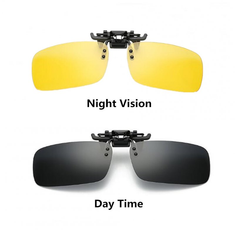 UV400 Polarized Time/Night Vision Glasse