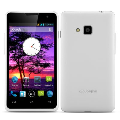 Cloudfone Thrill 400Qx Smartphone (White)