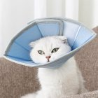 Collar Dog Cat Recovery Anti-Biting Ring Headgear for Protective Wound Pet Supplies blue_S