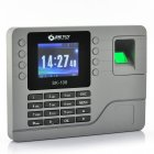 Color Screen Fingerprint Time Attendance System with a 2 8 inch display and also an 80000 Capacity  for recording information