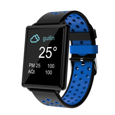 2e294b47f83 Wholesale Blue Heart Rate Smart Watch From China