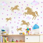 Colorful Animal Pattern Wall Sticker Home Child Room Nursery Wall Decoration FX64076
