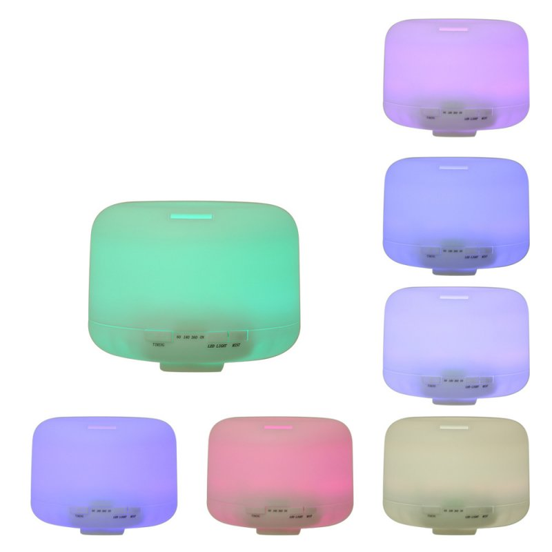 Colorful Humidifier 500ml Creative Fashion Fragrance Lamp Ultrasonic Humidifier Colorful_U.S. regulations