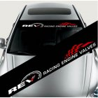 Styling Front Windshield Decal Sticker