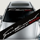 Colorful Reflective Decoration Decals Car Stickers Styling Front Windshield Decal Sticker  Style 4