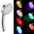 Colour Changing LED Luminous Shower Head Creative Sprinkler Bathroom Accessories  colour changing