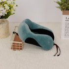 Comfortable U-Shape PP Cotton Neck Pillow for Travel