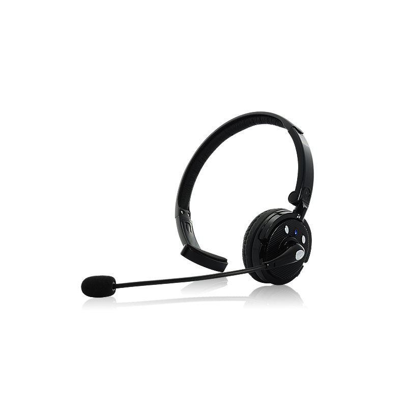 Bluetooth Headset with Boom Mic