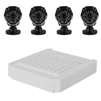 Compact 4 Channel HD NVR Kit