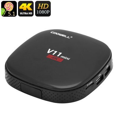 4K Android TV Box COOWELL V11