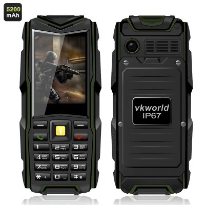 VKworld Stone V3 GSM Phone (Green)