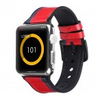 Compatible with Apple Watch Band 42mm 44mm Leather Band Replacement Compatible with Apple Watch Series 4 Series 3 Series 2 Series 1 Sport Edition red_42-44MM