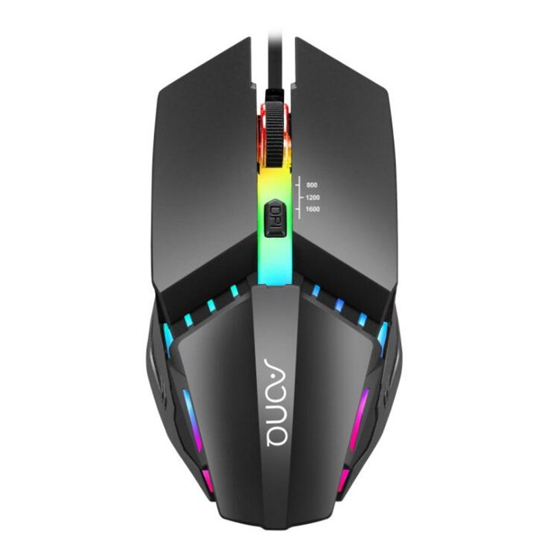 Competitive Gaming Mouse Home Computer Peripheral ABS Wired Mouse M3 illuminated mouse