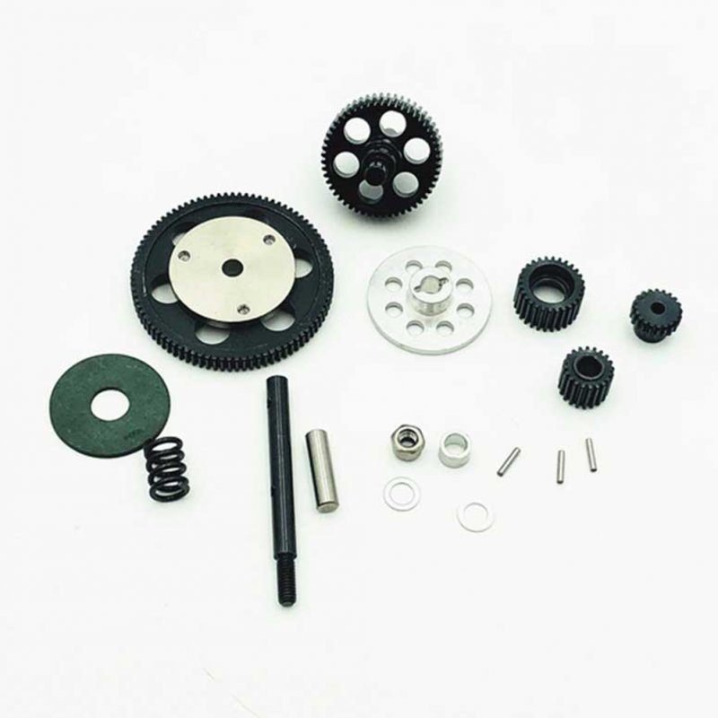 Complete Gear Set for 1:10 Axial SCX10 RC Simulate Crawler Car Metal Accessories gear