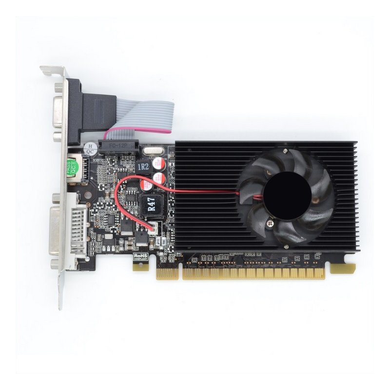 Computer Game Independent Graphics Card Half-height GT730 Small Graphics Card 2G 64Bit DDR3 Video Card GT730 2GB