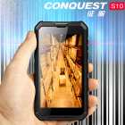 Conquest S10 with 5000mAh Battery  IP68 Waterproof Dustproof Shockproof  Fingerprint Identification  5 5 inch Android 6 0 MTK6753 Octa Core  NFC  OTG
