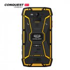 Conquest S11 Shockproof Smartphone IP68 Waterproof 6GB RAM 128GB ROM MTK Octa Core 7000mAh PTT NFC Fringerprint OTG Rugged Mobile Phone Yellow