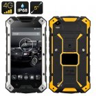 Conquest S6 Rugged IP68 Phone boasts 4G connectivity while having a 5 Inch 720p Display  a Quad Core CPU and is capable of Wireless Charging