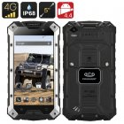 Conquest S6 Plus Rugged Smartphone (Black)