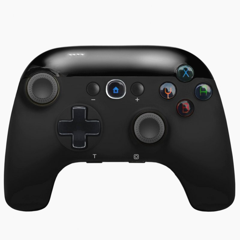 Controller For Switch Pro Wireless Bluetooth TURBO Motion Sensing Vibration Games Gamepad Joystick  black