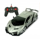 Cool Electric Remote Controlled Racing Sports Car Toy for Kids Boys Lamborghini gray_1:16