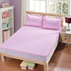 Cool Mattress Folding Cellular Mesh Summer Sleeping Mat for Home Bed  Pink