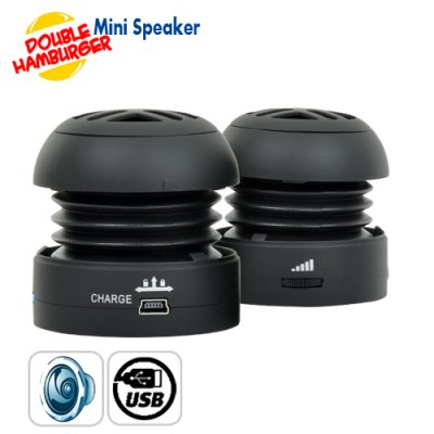 Double Hamburger Mini Speaker