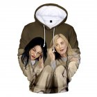 Couple Women Men American Drama Orange Is the New Black 3D Printing Hoodie Tops 3#_L