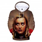 Couple Women Men American Drama Orange Is the New Black 3D Printing Hoodie Tops 2#_S