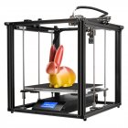 Creality Ender 5 Plus Ultra Large Printing Format 3D Printer Kit Dual Z Axis Resume Print Filament End Sensor Auto Bed Leveling Pre Installed black US Plug