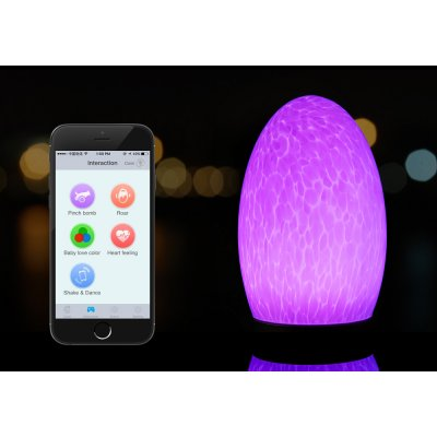 Cordless Remotely Controlled Lamp
