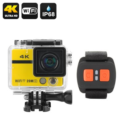 "4K Action Camera ""Clarion"" (Yellow)"