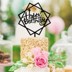 Creative Acrylic Cake Topper Baking Accessories Birthday Graduation Party Decoration