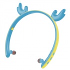 Creative LED Cartoon Luminous Elk Ear 5.0 Foldable In-ear Wireless Bluetooth Headset blue