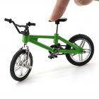 Simulation Mini Alloy Finger Bikes -Green