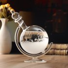 Weather Forecast Crystal Globe Shape