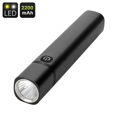 CREE LED Flashlight And Powerbank