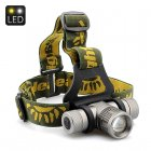 Cree XM L Q5 LED Headlamp emits 500 Lumens and has 3 Mode Support  Zoom as well as 3 Color Lens