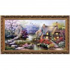 Cross Stitch DIY Handmade Needlework Set Embroidery Kit Home Living Room Bedroom Decor 65*40cm