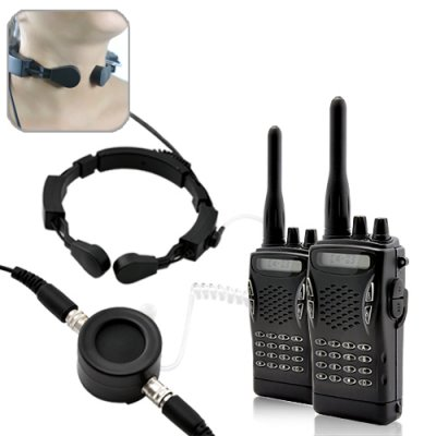 Throat Mic Radio Kit