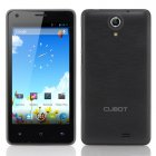 Cubot S108 Android Phone has a 4 5 Inch 960x540 Capacitive IPS Screen  MTK6582 Quad Core 1 3GHz CPU  512MB RAM and 4GB ROM