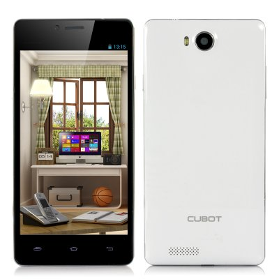 Cubot S208 5 Inch Quad Core Phone (White)