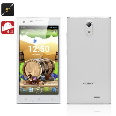 Cubot S308 Android 4.4 Phone (White)