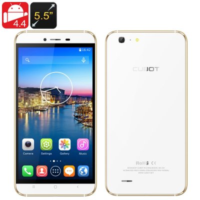 Cubot X10 Android Smartphone (Golden)