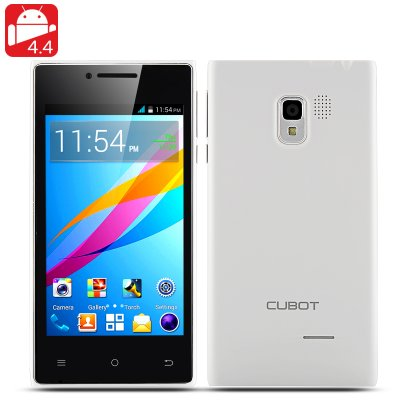 Cubot GT72+ Android4.4 Phone (White)