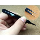 Curved Tips Flat Tweezers for E smoking Tub Cotton RDA RBA RTA RDTA Atomizer Heating Wire DIY Tool ESD 14  Flat Mouth