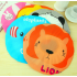 Cute Cartoon Animal Waterproof Shower Cap Resuable Lace Elastic Band Bath Hair Caps Hat   Panda