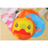 Cute Cartoon Animal Waterproof Shower Cap Resuable Lace Elastic Band Bath Hair Caps Hat   Rabbit