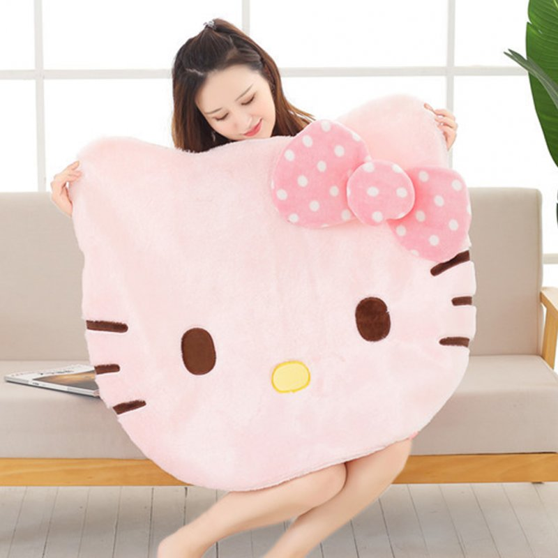 Cute Cartoon Hellokitty Pattern Game Mat Play Crawling Blanket for Living Room Decor Length 88X width 77CM