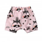 Cute Cartoon Kids Baby Short Pants Casual Sports Summer Shorts